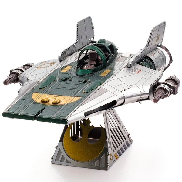 MINIATURA DE MONTAR METAL EARTH - STAR WARS - RESISTANCE A-WING FIGHTER MMS416 OUTROS