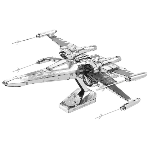 "MINIATURA DE MONTAR METAL EARTH - STAR WARS - T-70 POE DAMERON""S X-WING FIGHTER MMS269 OUTROS"