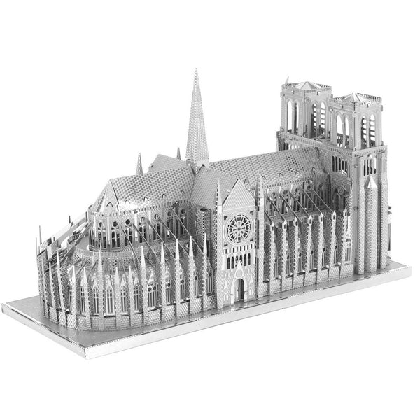 MINIATURA DE MONTAR METAL EARTH - ICONX - NOTRE DAME CATHEDRAL ICX003
