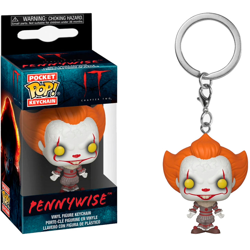 CHAVEIRO FUNKO POCKET POP KEYCHAIN IT CHAPTER TWO - PENNYWISE