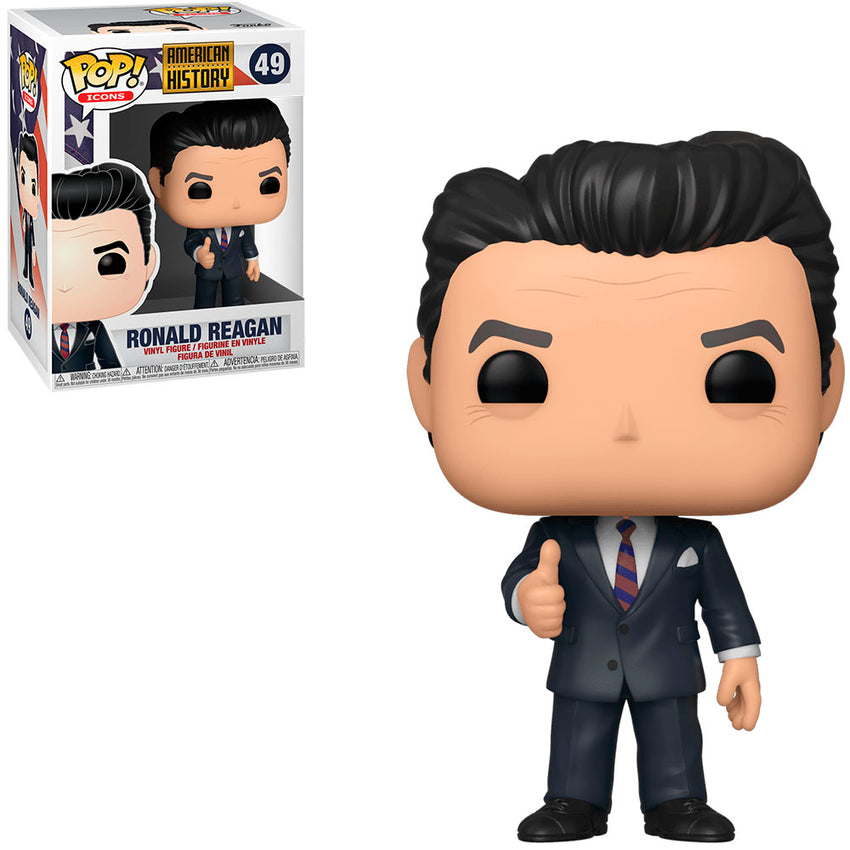 FUNKO POP ICONS AMERICAN HISTORY - RONALD REAGAN 49