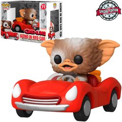 FUNKO POP RIDES GREMLINS EXCLUSIVE - GIZMO IN RED CAR 71