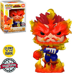 FUNKO POP MY HERO ACADEMIA EXCLUSIVE - ENDEAVOR 785 (GLOWS IN THE DARK)