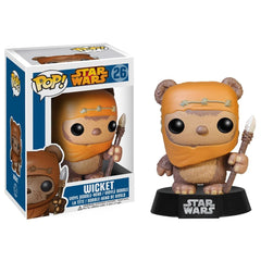 FUNKO POP STAR WARS WICKET 26