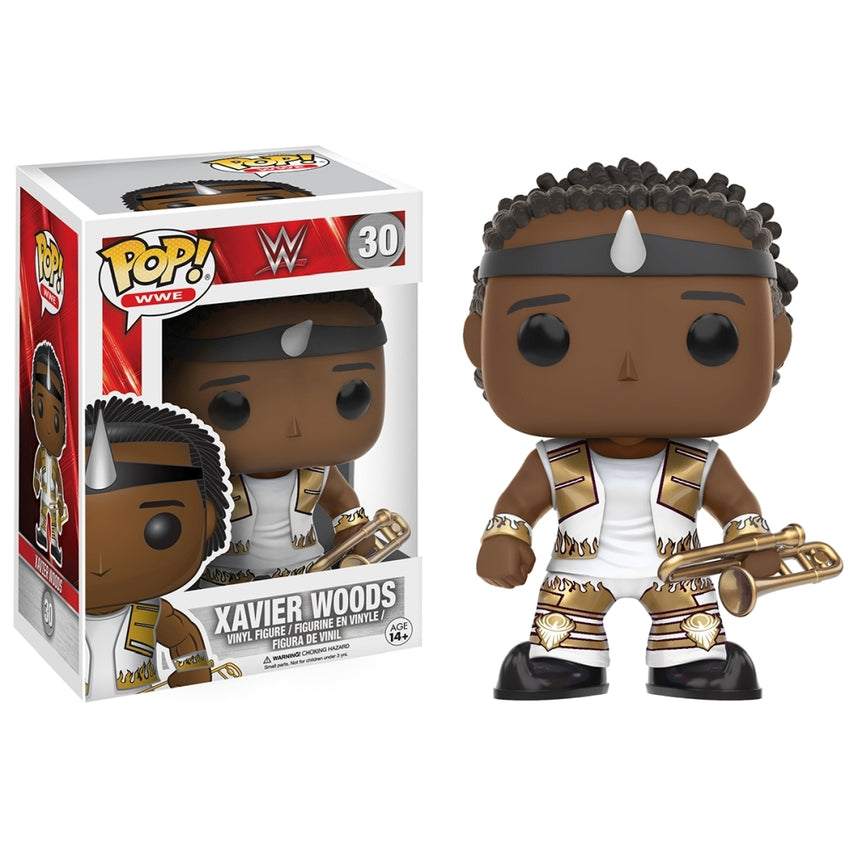 FUNKO POP WWE - XAVIER WOODS 30