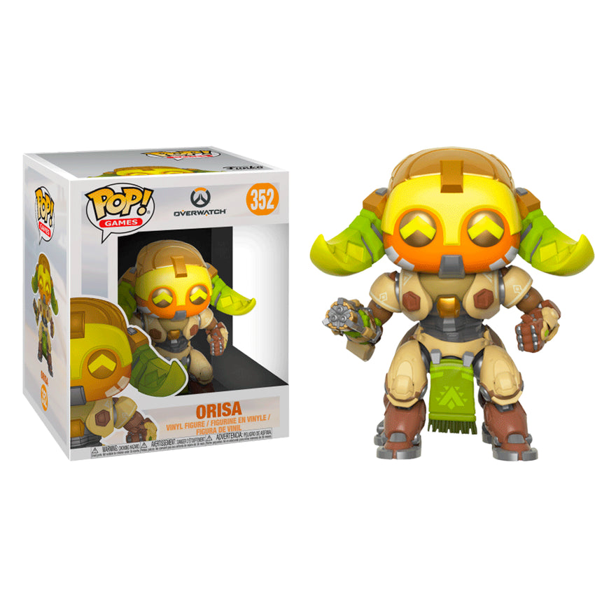 FUNKO POP GAMES OVERWATCH - ORISA *SIZED* 352