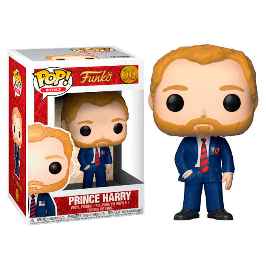 FUNKO POP - ROYAL FAMILY PRINCE HARRY 06
