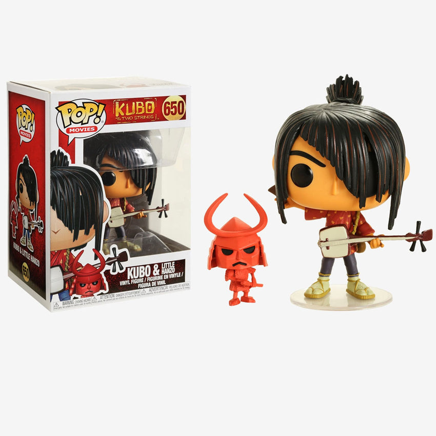 FUNKO POP MOVIES KUBO AND THE TWO STRINGS KUBO LITTTLE - HANZO 650