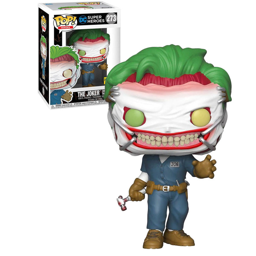 FUNKO POP HEROES DC EXCLUSIVE - THE JOKER DEATH OF THE FAMILY 273