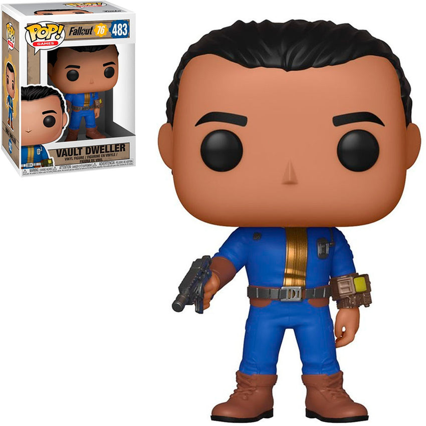 FUNKO POP GAMES FALLOUT 76 - VAULT DWELLER 483