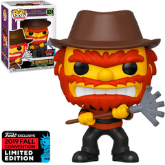 FUNKO POP TELEVISION THE SIMPSONS TREEHOUSE OF HORROR EXCLUSIVE NYCC 2019 - EVIL GROUNDSKEEPER WILLIE 824