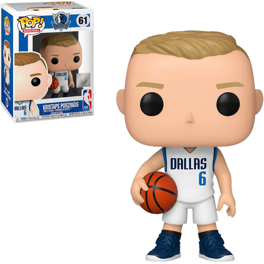 FUNKO POP NBA DALLAS MAVERICKS - KRISTAPS PORZINGIS 61