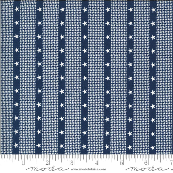 Harbor Springs Striped Star Navy
