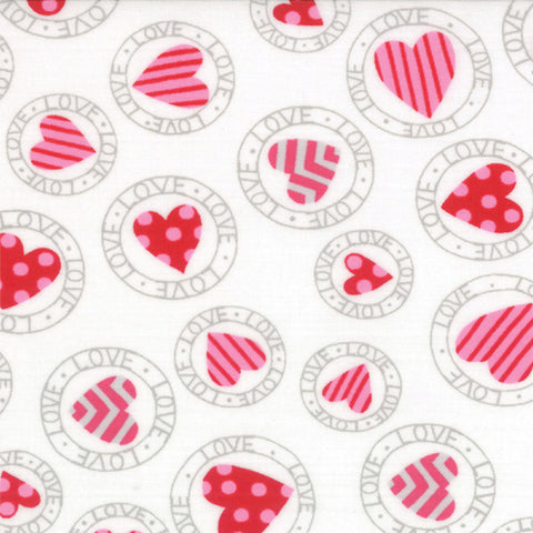 Surrounded by Love Love Stamps White Chocolat