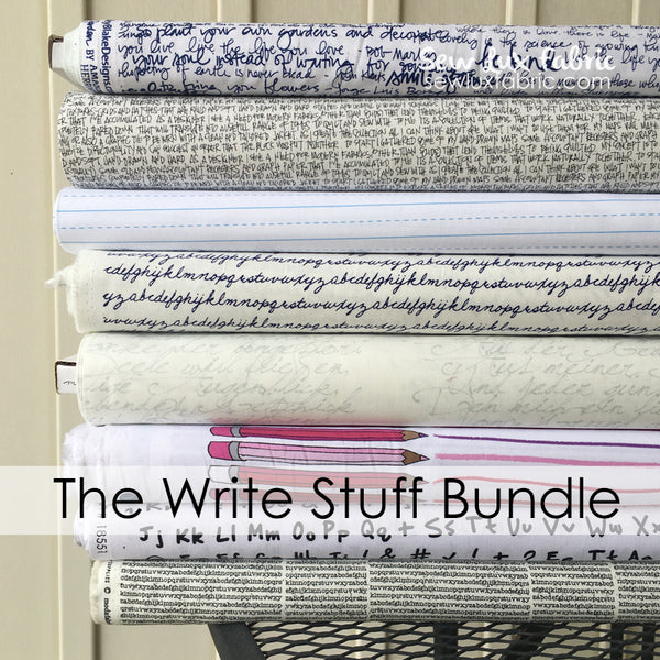 The Write Stuff Bundle