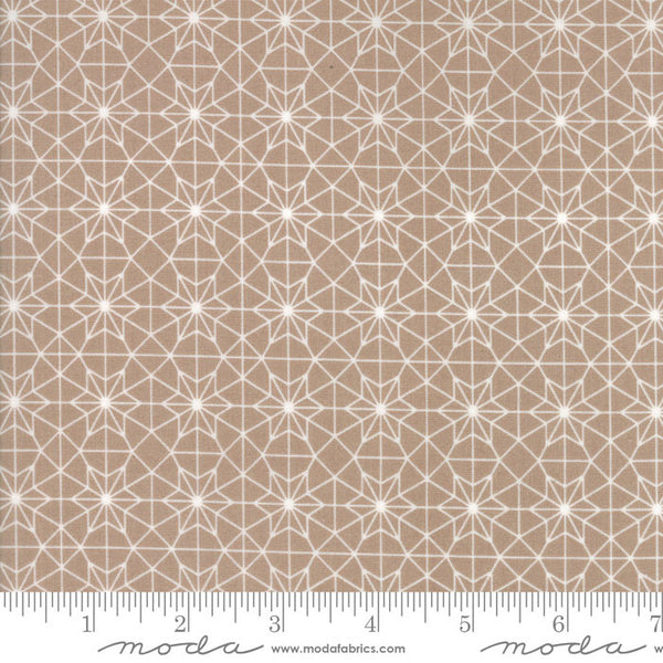 Olive's Flower Market Cathedral Lace Taupe