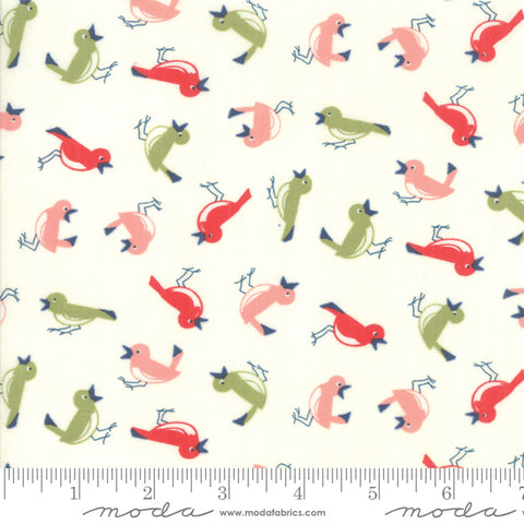 Early Bird Vintage Birds Cream