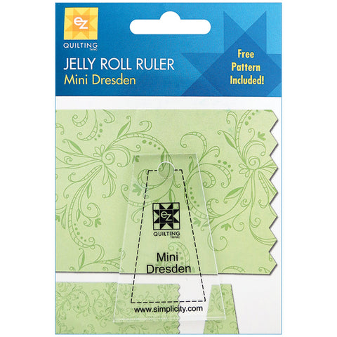 Mini Dresden Jelly Roll Ruler