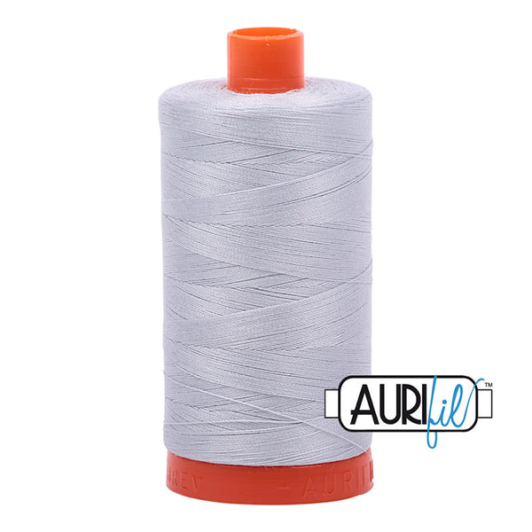 Aurifil Cotton Mako Thread 50wt Dove Grey