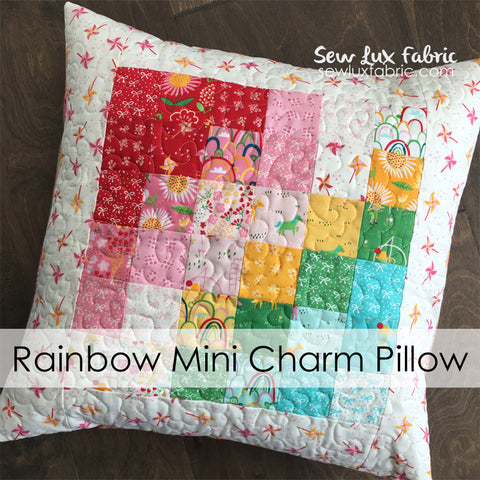 A Best Friends Forever Rainbow Pillow Kit