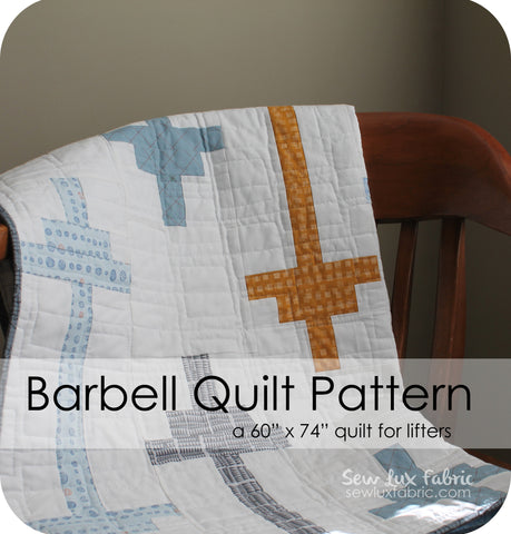 Barbell Quilt Pattern - PDF