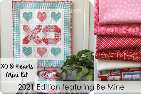 XO and Hearts Mini Kit - 2021 Be Mine Edition