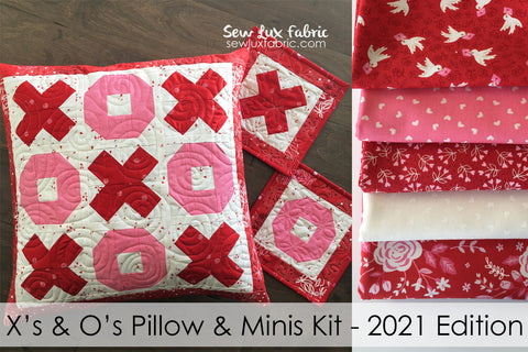 X's and O's Pillow Kit - 2021 Be Mine Edition