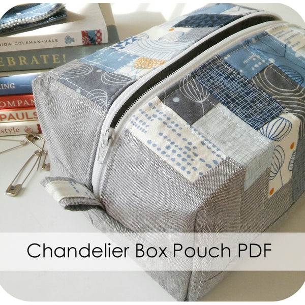 Chandelier Box Pouch PDF Pattern