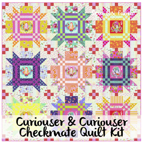 Curiouser & Curiouser Checkmate Quilt Kit