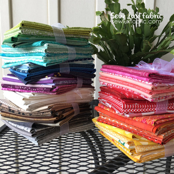Color Builder Fat Quarter Grab Bag Bundle - Choose Color