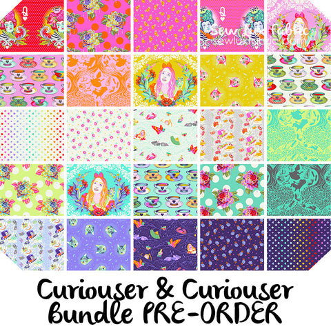 Curiouser & Curiouser Fat Quarter Bundle - PREORDER