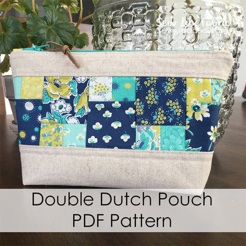 Double Dutch Pouch PDF Pattern