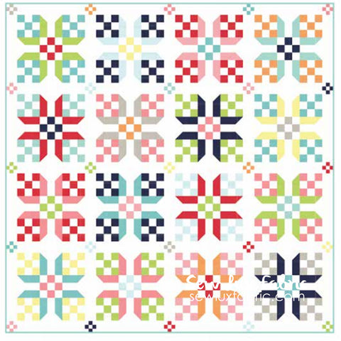Bonnie & Camille Solids Early Bird Quilt Kit