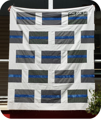 Everyday Hero Quilt Pattern - PDF