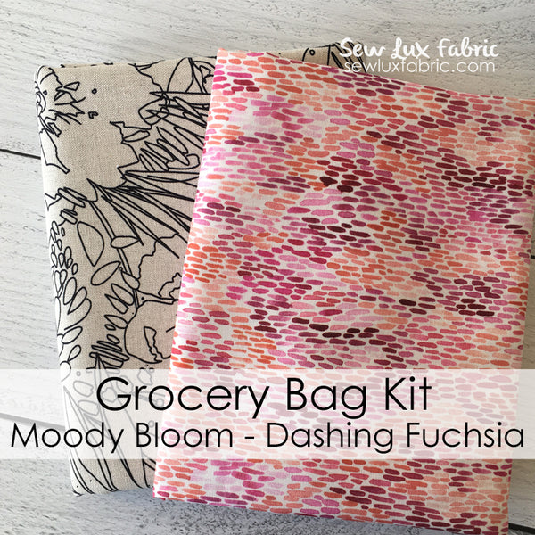 Moody Bloom Dashing Fuchsia Grocery Bag Kit