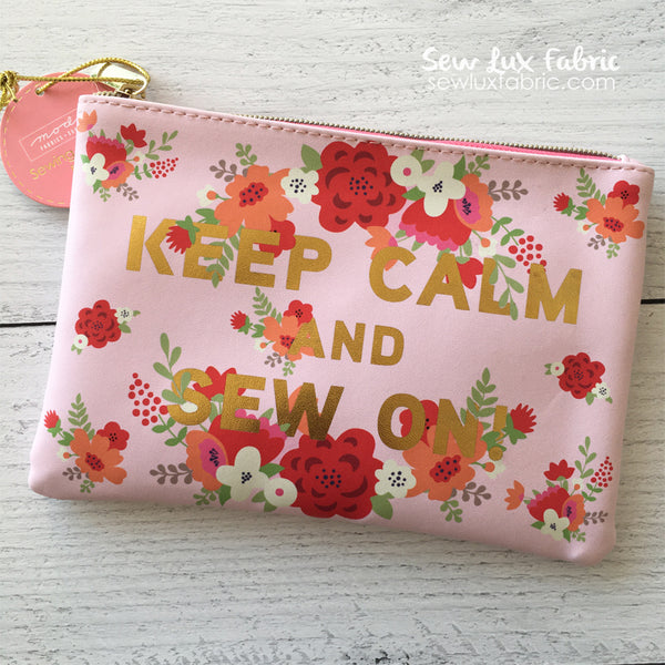 Glam Bag - Keep Calm & Sew On