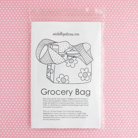 Michelle Patterns Grocery Bag Pattern