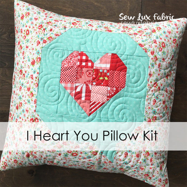 I Heart You Pillow Kit