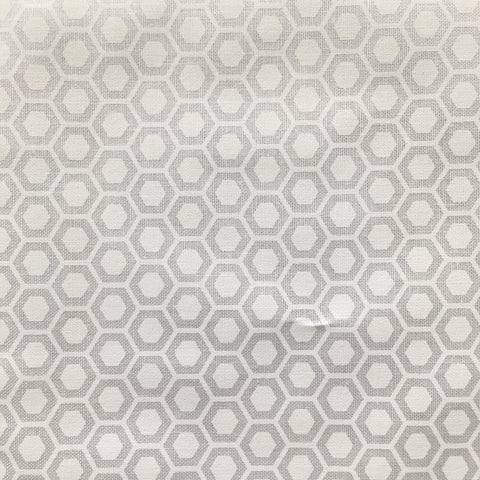 Muslin Mates Hexagons White