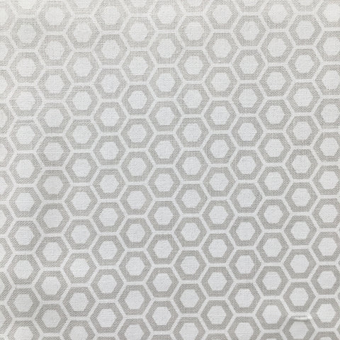 Muslin Mates Hexagons Muslin
