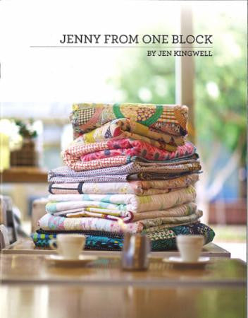 Jenny From One Block Pattern Booklet by Jen Kingwell