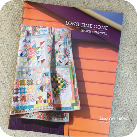 Jen Kingwell Long Time Gone Pattern Booklet
