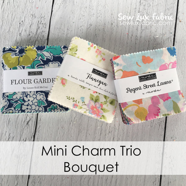 Mini Charm Trio - Bouquet
