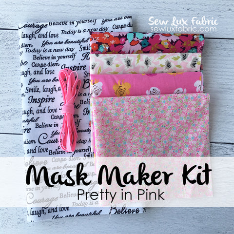 Mask Maker Kit - Pretty in Pink