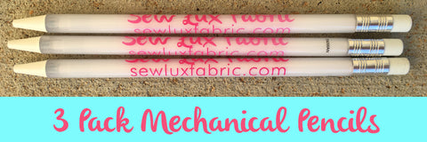 Sew Lux Mechanical Pencils - 3 Pack