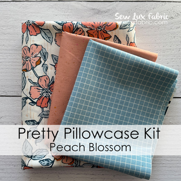 Pretty Pillowcase Kit - Goldenrod Peach Blossom