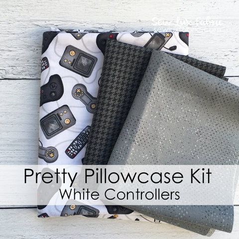 Pretty Pillowcase Kit - White Controllers