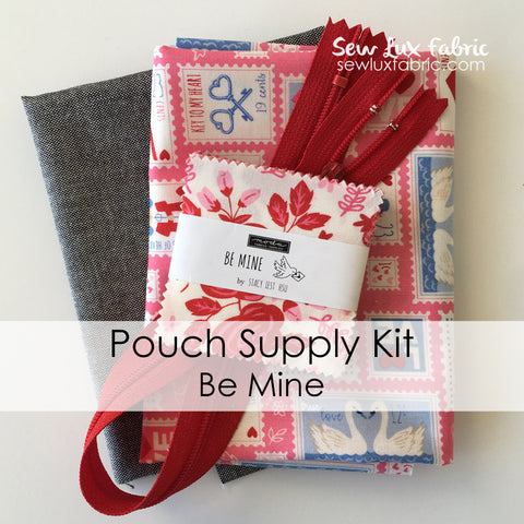 Pouch Supply Kit - Be Mine