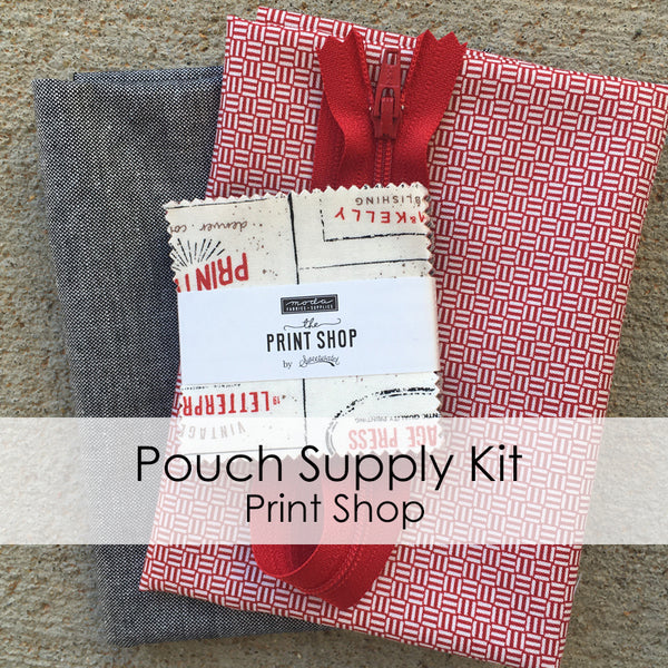 Pouch Supply Kit - Print Shop
