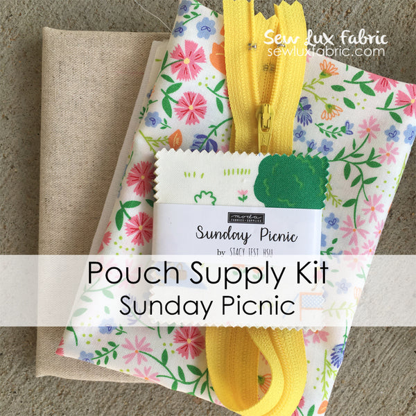 Pouch Supply Kit - Sunday Picnic